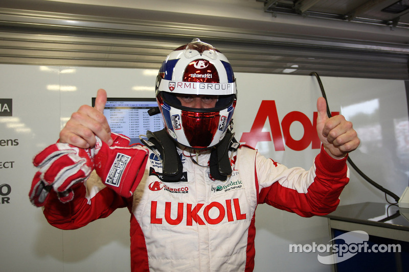 Yvan Muller, Chevrolet Cruze 1.6T, RML pole position
