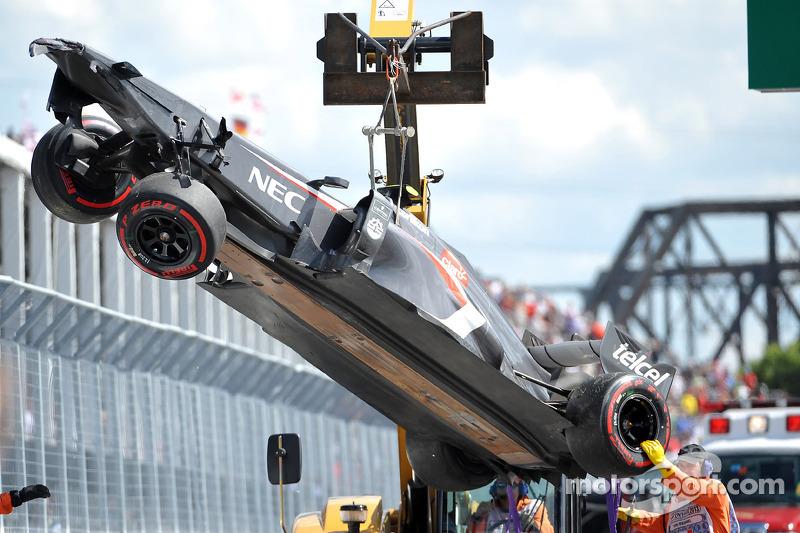 Esteban Gutierrez: Grand Prix von Kanada 2013 in Montreal