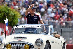 Valtteri Bottas, Williams bij de rijdersparade