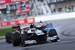 Valtteri Bottas, Williams FW35 verremt zich