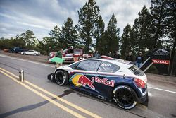Sébastien Loeb testet den Peugeot 208 T16 am Pikes Peak