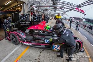 #24 OAK Racing Morgan LMP2-Nissan: Olivier Pla, David Heinemeier Hansson, Alex Brundle