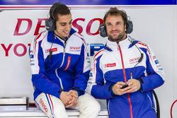 Sébastien Buemi et Nicolas Lapierre