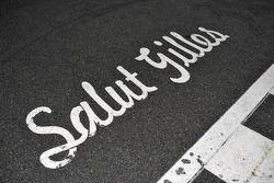 A message to Gilles Villeneuve