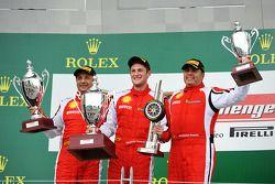 Onofrio Triarsi, la #8 Ferrari of Fort Lauderdale et Emmanuel Anassis