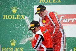 Onofrio Triarsi et la #8 Ferrari of Fort Lauderdale