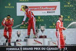 Onofrio Triarsi, la #8 Ferrari of Fort Lauderdale et Michael Schein
