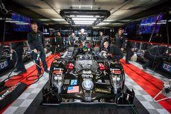 Level 5 Motorsports garage