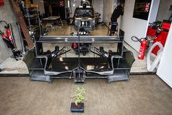 Een bonsai voor de Lotus Praga garage