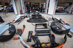 Partes del #96 Aston Martin Racing Aston Martin Vantage GTE