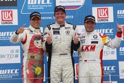 Yokohama Trophy, 1e plaats Michel Nykjaer, BMW E90 320 TC, ROAL Motorsport