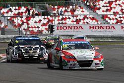 Mehdi Bennani, BMW E90 320 TC, Proteam Racing lidera Michel Nykjaer, Chevrolet Cruze 1.6T, Nika Raci