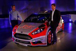 Презентация Fiesta R5 команды M-Sport, особое событие.