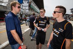 Ryan Dalziel, John Martin and Mike Conway