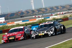 Miguel Molina, Audi Sport Team Phoenix Racing Audi A5 DTM, Joey Hand, BMW Team RBM BMW M3 DTM