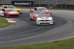 largada #57 Stevenson Motorsports Camaro GT.R: John Edwards, Robin Liddell