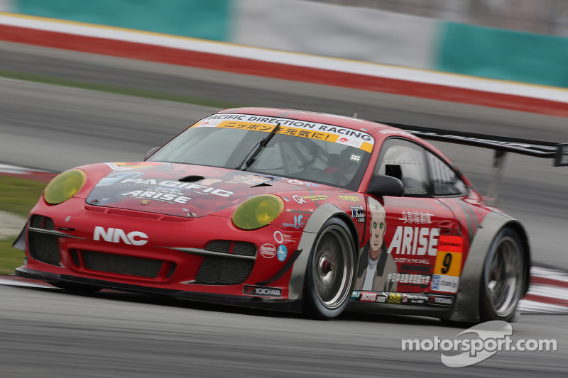 #911 PACIFIC DIRECTION RACING: corak Ghost in the Shell ARISE