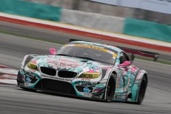 #4 GSR&Studie with Team Ukyo BMW Z4 GT3: Tatsuya Kataoka, Nobuteru Taniguchi