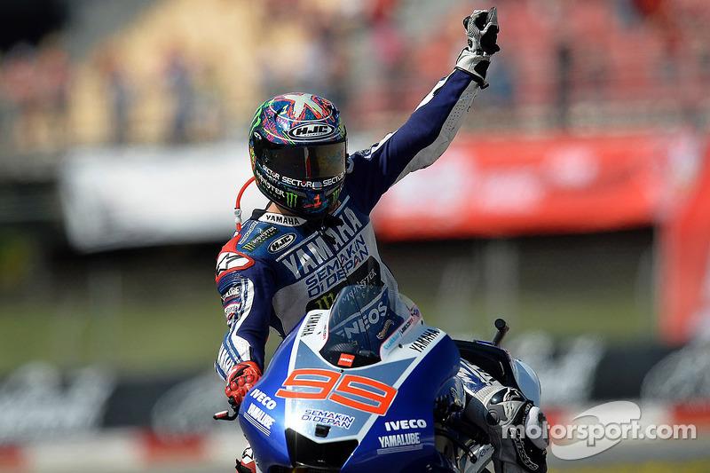 Grand Prix de Catalogne 2013, vainqueur : Jorge Lorenzo