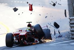 Crash von Felipe Massa, Ferrari