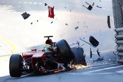 Accident de Felipe Massa, Ferrari F138