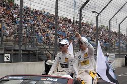 Marco Wittmann, BMW Team MTEK BMW M3 DTM and Timo Glock, BMW Team MTEK BMW M3 DTM