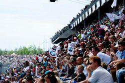 Zuschauer am Lausitzring