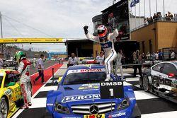 Winnaar Gary Paffett, Mercedes AMG DTM-Team HWA DTM Mercedes AMG C-Coupe