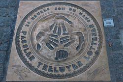 2011 Handprints of Fassler, Treluyer, Lotterer