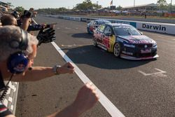 Craig Lowndes, Red Bull Holden takes the win