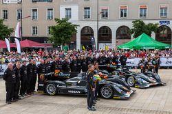 El #25 G-Drive Racing Oreca 03 Nissan: Tor Graves, Shinji Nakano, Archie Hamilton, el #26 G-Drive Ra