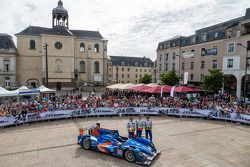 #36 Signatech-Alpine Alpine A450 Nissan: Pierre Ragues, Nelson Panciatici, Tristan Gommendy