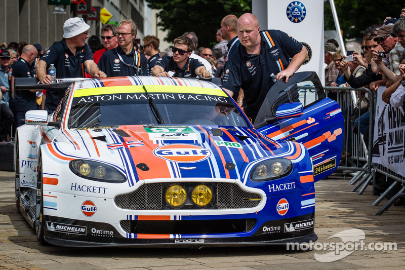 #97 Aston Martin Racing Aston Martin Vantage GTE with special livery