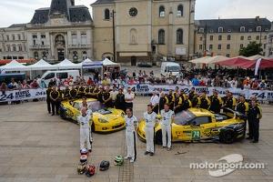 #73 Corvette Racing Corvette C6.R: Jordan Taylor, Antonio Garcia, Jan Magnussen, #74 Corvette Racing Corvette C6.R: Oliver Gavin, Tom Milner, Richard Westbrook