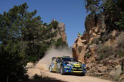 Per-Gunnar Andersson et Anders Fredriksson, Ford Fiesta WRC