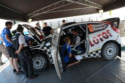 Michal Kosciuszko et Maciek Szczepaniak, Ford Fiesta WRC