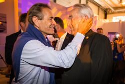 Jacky Ickx y Gérard Larousse