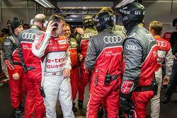 Tom Kristensen et l'équipe Audi Sport