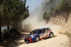 Robert Kubica et Maciek Baran, Citroën DS3 WRC