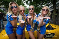 Las encantadoras chicas de Lotus Praga