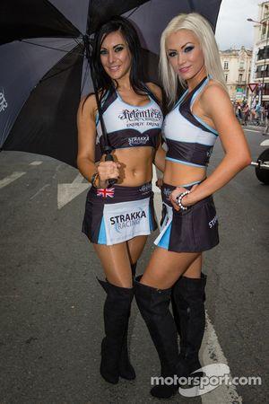 The Strakka Racing girls