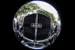 Detalle del logo de Audi