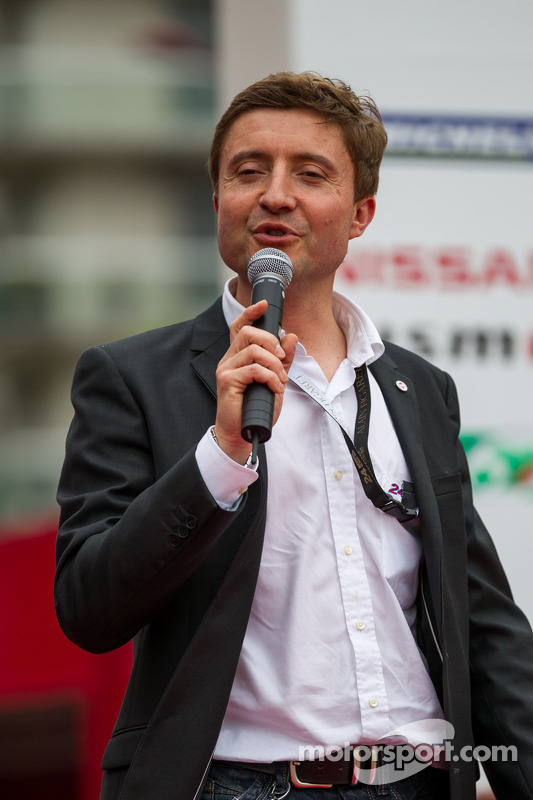 Bruno Vandestick, a voz das 24 Horas de Le Mans