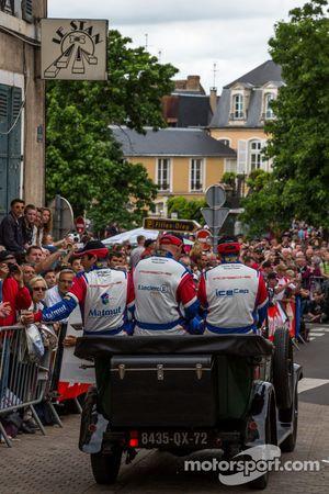 Raymond Narac, Jean-Karl Vernay, Christophe Bourret