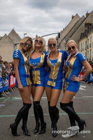 Las chicas Praga Racing