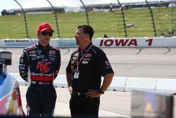 Marco et Michael Andretti