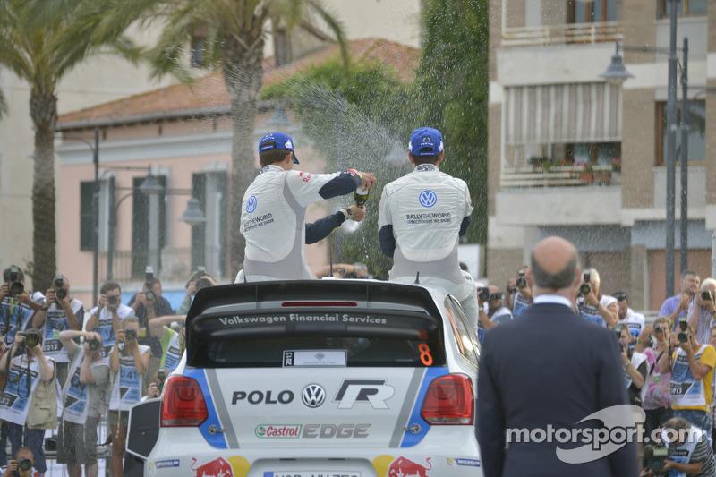 Ganaodres Sébastien Ogier y Julien Ingrassia, Volkswagen Polo WRC, Volkswagen Motorsport