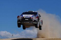 Elfyn Evans e Giovanni Bernacchini, Ford Fiesta WRC