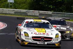 Michael Zehe, Roland Rehfeld, Marko Hartung Rowe Racing, Mercedes-Benz SLS AMG GT3