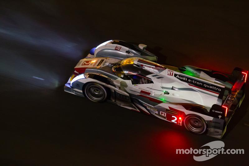 2013: Audi - Tom Kristensen, Allan McNish e Loic Duval
